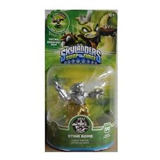 NIB Skylanders Swap Force Rare Chase Variant Silver/Gold Stink Bomb Not Mint