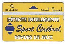 Belgium - Public Phonecard - S113 Sport Cérébral 515F - Mint/Neuve
