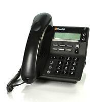 ShoreTel IP 420 IP420 VoIP PoE Backlit Display Black Office Phone 260-1261-03