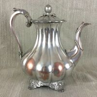 Antique Coffee Pot Jug Old Sheffield Silver Plate  English Silverplate