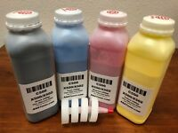 (2 times) 4 Toner Refill for Lexmark C500, X500, X502 Color Printer (Total 800g)
