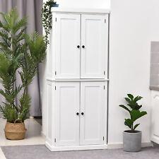 HOMCOM Kitchen Storage Cabinet W/ Adjustable Shelf Pantry 76L x 40.5W x 184H cm