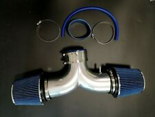 """Dual Inlet 4"""" Cold Air Intake Induction Kit Jeep Grand Cherokee 4.7L V8 99-04"""