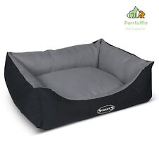 EXTRA LARGE Scruffs Expedition Water Resistant Dog Box Bed Graphite 90 x 70cm