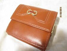 Vintage Wallet With Built In Coin Purse 1970's
