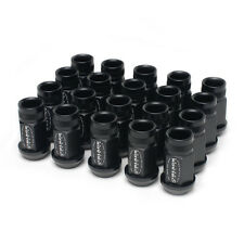 SKUNK2 BLACK SERIES WHEEL LUG NUTS 20 PIECE PCS HONDA ACURA 12x1.5 12MM x 1.5MM