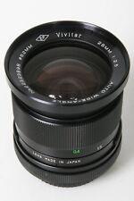 Vivitar EP Auto 28mm, f/2.5. Canon FD Mount