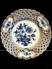 Antique porcelain MEISSEN plate