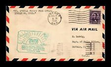 DR JIM STAMPS OTTAWA TORONOT AIRMAIL FIRST FLIGHT CANADA COVER