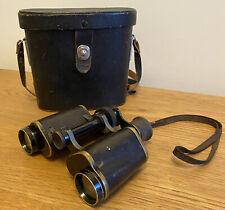 Vintage German Voigtlander 8x Braunschweig Field Binoculars. Good Used Condition