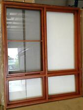 AWNING WINDOWS, SOLID CEDAR TIMBER WINDOW, 1450X1720H, 6MM GLASS, AW06 PRE ORDER