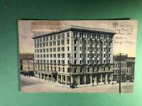Montgomery AL Postcard New Exchange Hotel Shops Buildings 1910