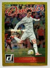 CRISTIANO RONALDO GOLD DOMINATOR PANINI DONRUSS 2016-17 #22 REAL MADRID