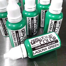 NEW 1 OZ. LAGUNA GREEN Liquid Color Dye Fishing Soft Bait Lure Making plastisol