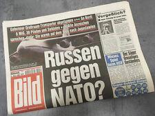 Bildzeitung vom 24.03.1999 * 19. 20. 21. Geburtstag Geschenk  * Russen Nato