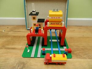 Lego Town Train – 149 Fuel Refinery – Complete – Vintage Set – 1974 – Legoland