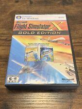 Microsoft Flight Simulator X Gold Edition (PC Windows 2008) Game Complete