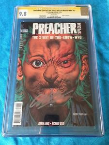 Preacher: The Story of You Know Who - DC - CGC SS 9.8 - Signed by Garth Ennis