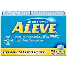 Aleve Caplet 24ct Pain reliever Fever Reducer