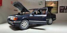 1:24 Model Ford Granada Scorpio Ghia Blue Schabak Diecast 1:25 Rare! BNIB