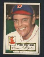 1952 Topps #84 Vern Stephens EX/EX+ Red Sox 109178