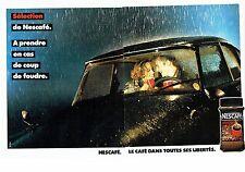 PUBLICITE ADVERTISING 017  1990  café soluble Nescafé séléction (2pages)