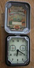 Leed's Spirit of St. Louis McCook Field Tin Alarm Clock New Open Box