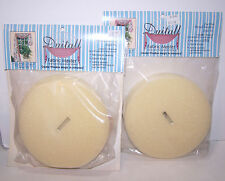 """Duitall Fabric Master Buttons Style H+ 6"""" Diameter Window Treatment 2 Sets - New"""