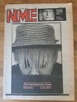 NME newspaper January 12th 1980 pink military and David Bowie on video cover