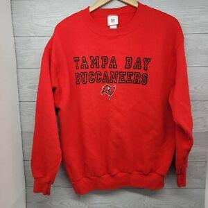 Vintage VF Imagewear NFL Tampa Bay Buccaneers Sweatshirt Size Large 50/50