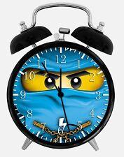 """Lego Ninjago Alarm Schreibtisch Uhr 3.75"""" Heim oder Büro Dekor W358 Nizza für Geschenk"""