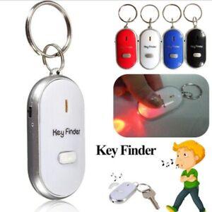 LED Smart Key Finder Sound Control Alarm Anti lost Tag Child Bag Pet Locator