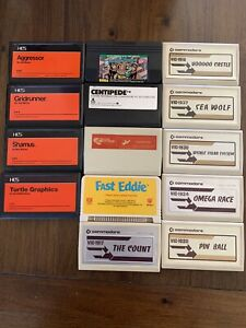 Lot of Commodore VIC-20 Computer Games & Memory Expanders RS 232c