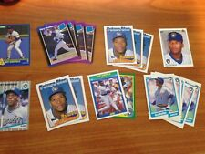 (19) card Gary Sheffield Rookie RC 1989 Fleer upper deck donruss lot NM look