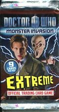 Doctor Who Monster Invasion Extreme Factory Sealed Hobby Packet / Pack