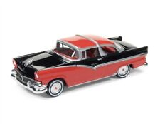1/64 RACING CHAMPIONS 5B1 1956 Ford Crown Victoria (Raven Black & Fiesta Red)