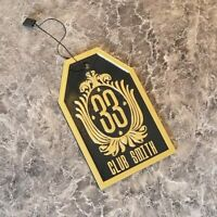 Personalized Disney Club 33 Inspired Luggage Tag - Your Name Here!