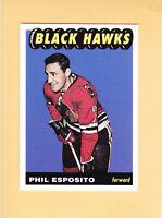 1998 99 TOPPS REPRINT BLAST FROM THE PAST # 10 PHIL ESPOSITO BLACKHAWKS ** FS **