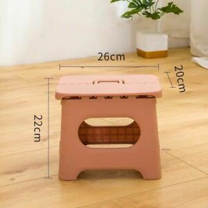 Folding Step Stool Multi Purpose Heavy Duty Home Kitchen Indoor Foldable Chairs