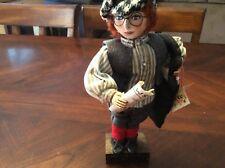 Rare Margaret Mallia Doll 1988 Newspaper Boy Collectible