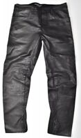 G-star Raw A Crotch Leather Tapered Pants Jeans Lederhose