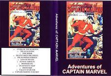captain marvel. CLIFFHANGER SERIALS ..complete