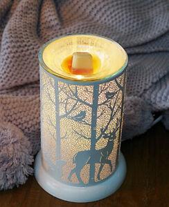 Wax Burner - Woodland White Owlchemy Electric wax burner with light & dimmer