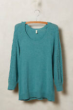 NEW ANTHROPOLOGIE Icehouse Pullover Sweater L Large by Moth