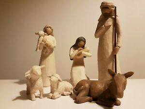 Willow Tree Nativity Figurine Ornaments Christmas.