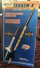 NEW Estes Tandem-X Model Rocket Launch Set #1469 Homeschool Science Project Gift
