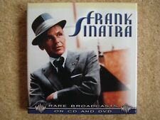 Frank Sinatra - Rare Broadcasts - Cd and Dvd Box Set - incl. Elvis Presley