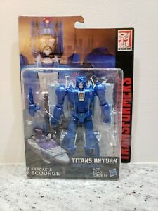 SCOURGE! Transformers Titans Return! Deluxe Class, Brand New!