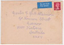(K73-30) 1970 GB 8P envelope to Victoria (space filler) (AE)