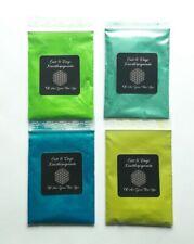 4 x Effektpigment Metallicpigment 1 viele Anwendungen auch Pouring trockenfarbe
